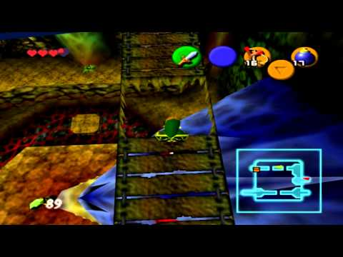 Walkthrough FR l Zelda Ocarina Of Time l Partie 6 : Caverne Dodongo