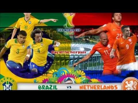 BREZİLYA (0-3) HOLLANDA( BRASİL VS HOLLAND)