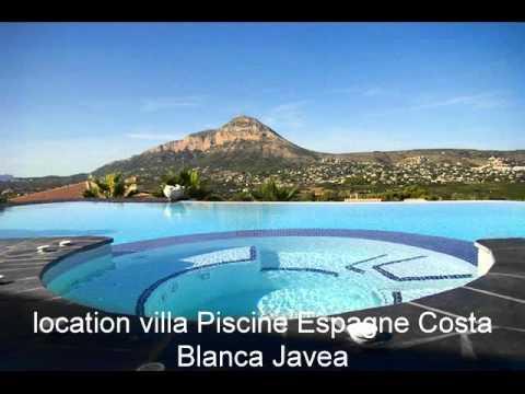 Location villa espagne avec piscine pas cher youtube for Piscine creusee pas chere