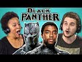 ADULTS REACT TO BLACK PANTHER TRAILER