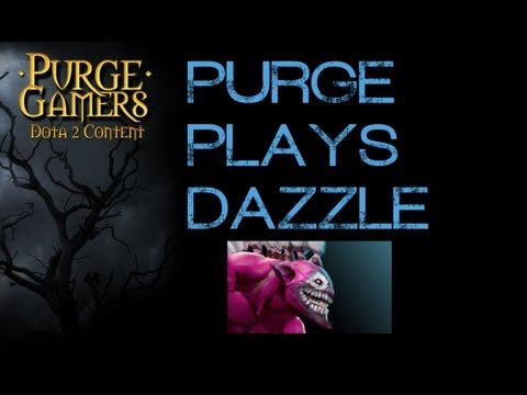 Dota 2 Purge plays Dazzle