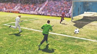 EXTREME FOOTBALL IN GTA 5 (GTA 5 Funny Moments)