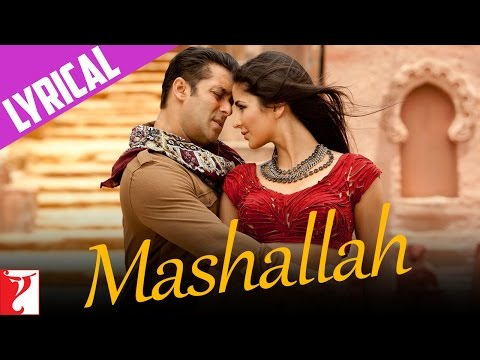 Song With Lyrics - Mashallah - Ek Tha Tiger video