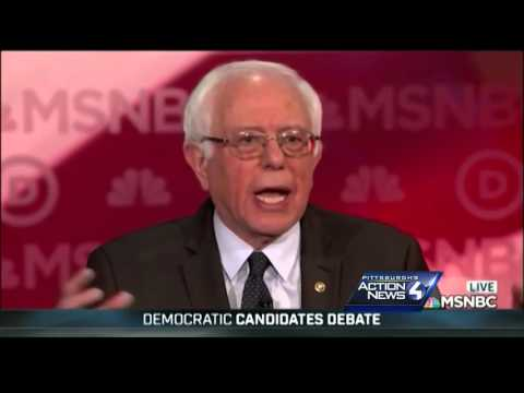 Heated moments during Democratic presidential debate