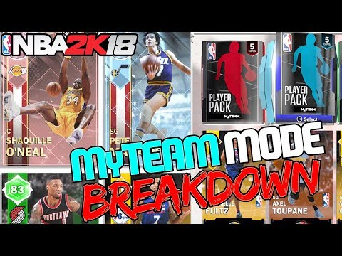 "NBA 2k18 MyTEAM Mode Breakdown! New Draft Mode (Pack & Playoffs) ""SuperMAX"" Pink Diamonds + MORE!"