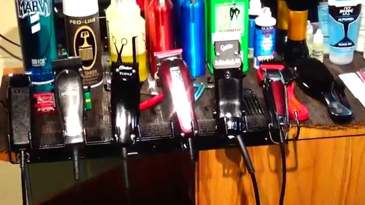 barber collection supplies clippers guards blades barber arsenal barber station youtube. Black Bedroom Furniture Sets. Home Design Ideas