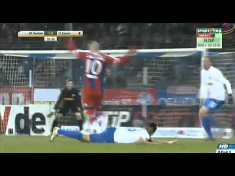 Goal Arjen Robben !!! Vfl Bochum - Bayern Munchen 1-4 !!!