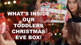 CHRISTMAS EVE BOX FOR A TODDLER | VLOGMAS DAY 11 MRS MELDRUM COLLAB | BELLES BOUTIQUE
