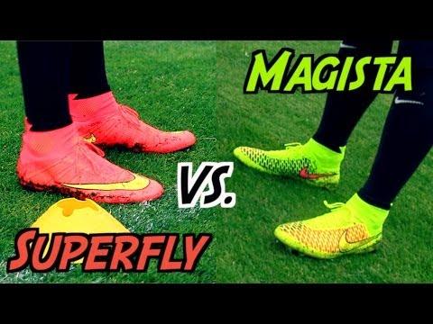 Mercurial Superfly 4 VS. Magista Obra | THE Nike Football Boot Battle 2014 | by 10BRA
