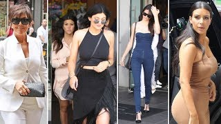 The Kardashians Get Gussied Up For Apartment Hunting In NYC! [2014]