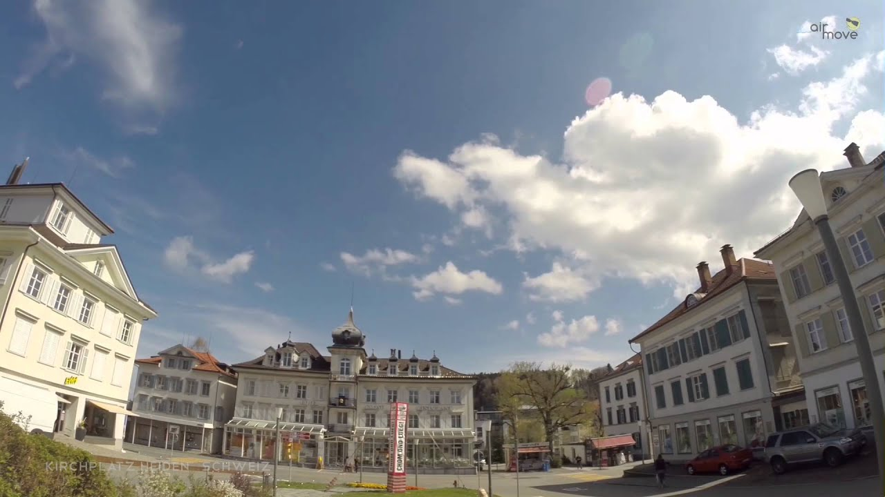 Heiden Switzerland  city photos : AirMove Kirchplatz Heiden, Schweiz AR YouTube