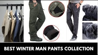 Top 10 best casual man pants   Winter Man pants Collection   Don't Miss