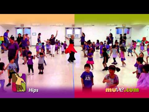 Creative dance for preschool children - Simple spontaneous dancing for kids and adults