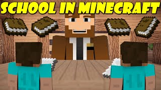If School Was In Minecraft