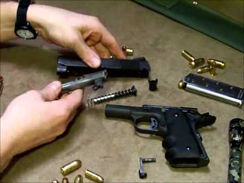 Field Strip and Reassembly of the Rock Island Armory Compact 1911