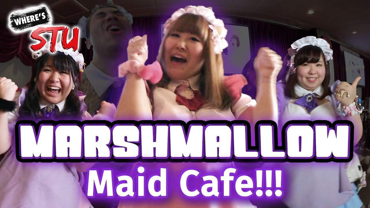 Japan's First 'PLUS-SIZE' Maid Cafe!!! [MJ Selection]