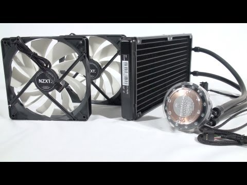 #1401 - NZXT Kraken X40 & X60 CPU Water Coolers Video Review