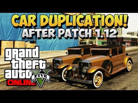 GTA 5 Glitches - Car Duplication Glitch 1.12 - Free Rare Cars On GTA 5 Online ! (GTA 5 Glitches)