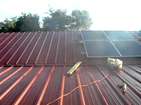 How to install solar panels on your roof quickly and cheaply - Part 3