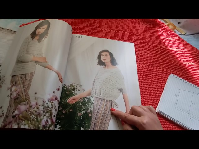 Вязание. Как я вязала пуловер из журнала FaM 251