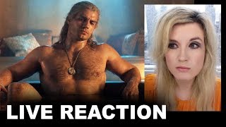 The Witcher Trailer REACTION