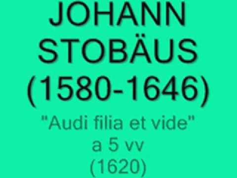 Johann Stobäus - Macht hoch die Tür