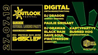 BassClef presents Outlook Bangkok Official Launch Party @Safe Room, BKK [07/2/19]]
