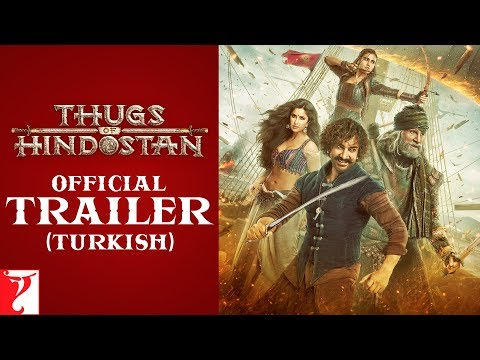 Thugs Of Hindostan Trailer | Turkish | Amitabh Bachchan | Aamir Khan | Katrina Kaif | Fatima