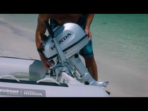 Honda Marine BF4. 5. and 6 Portable Outboards