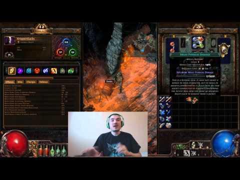 [Path of Exile] Lightning Strike Nerf & Mechanics