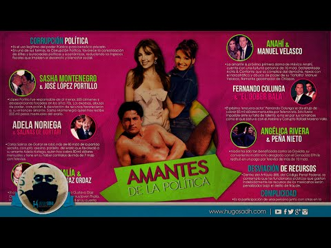 Famosos de Televisa, Amantes de La Política