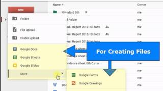 2  Interface of Google Drive