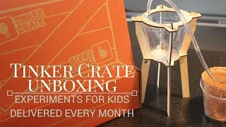 Tinker Crate Unboxing--Projects for Smart Kids