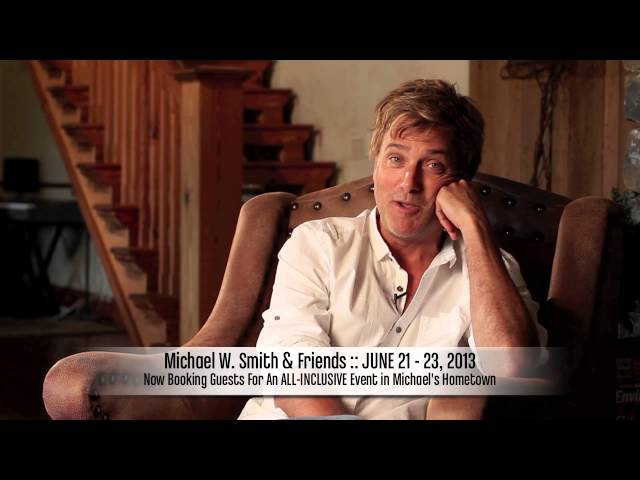 An Invitation from Michael W. Smith to his Tennessee Event this June!