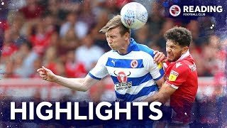 2-minute review | Nottingham Forest 1-0 Reading | 11 August 2018