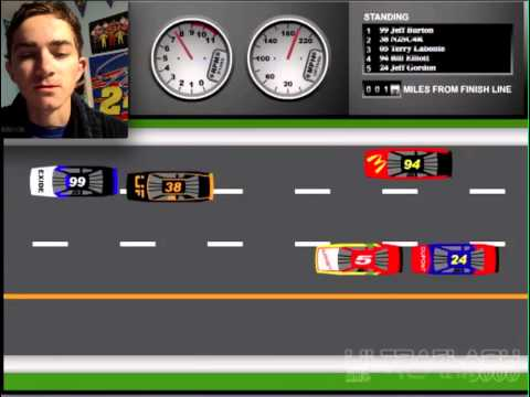 5 Miles 2 Go (NASCAR PC Arcade Gameplay)