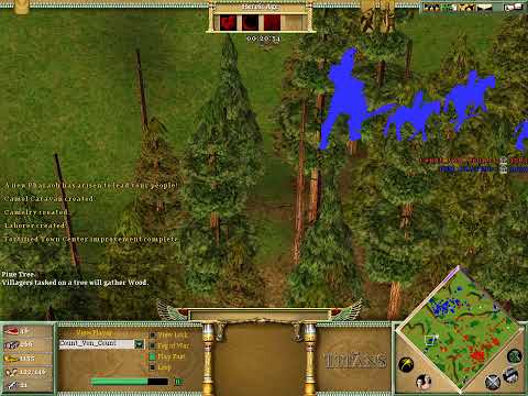 Age Of Mythology The Titans Pro Match Commentary w/ TheDarkDevil & ShadowOfDarkness!