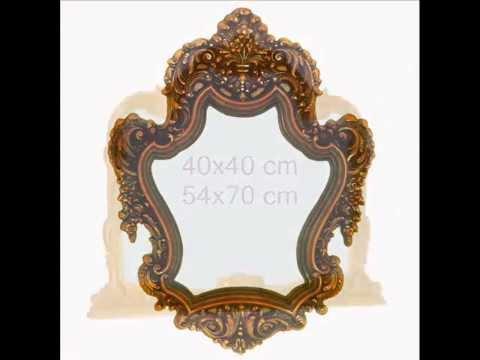 Marcos para pinturas y espejos arte decora youtube - Hacer marcos para espejos ...