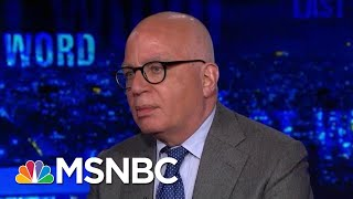 Michael Wolff: 'President Donald Trump Is Willing To Destroy An Institution' | The Last Word | MSNBC