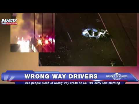 DEADLY Wrong Way Crash on Loop 101 Kills Two People - DPS Shares Tips to Avoid Wrong Way Drivers