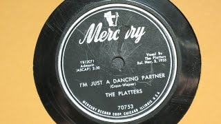Watch Platters Im Just A Dancing Partner video