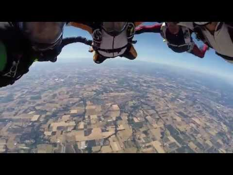 Skydive Oregan - 8 Way Hybrid
