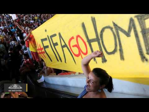 Anonymous Brazil Kicks Off Anti-World Cup Protest, Defaces Websites - TOI