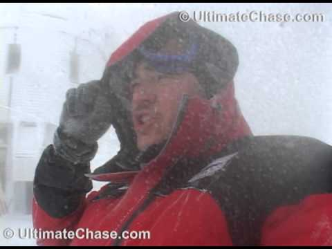 INSANE !! Worlds Worst Weather on Mt. Washington's Summit !! Winds up to 100 !!!