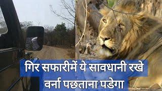 गिर सफारीमे इतना ध्यान ज़रूर रखे | How to do Sasan Gir Safari | Most popular tourist place in India
