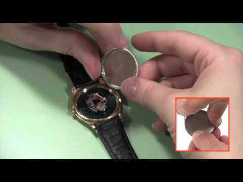 How to Open a Snap Off Watch Back