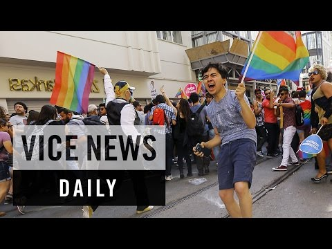 VICE News Daily: Turkish Police Breakup Istanbul's Gay Pride Parade