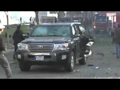 BBC News Beirut blast kills Sunni ex minister Mohamad Chatah