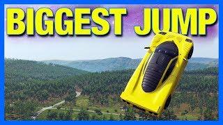 Forza Horizon 4 : The Biggest Jump!!