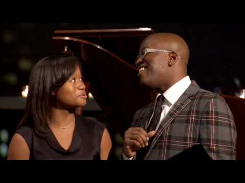 Sing for Hope: Tituss Burgess and students at Sing for Hopes Gala